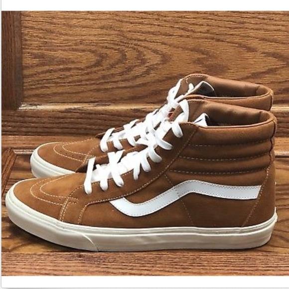 49cee60e1a57 Vans Sk8 Hi Reissue Retro Sport Glazed Ginger